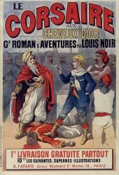Le Corsaire aux cheveux d'or, grand roman d'aventure par Louis Noir (Belin Auguste) - Muzeo.com