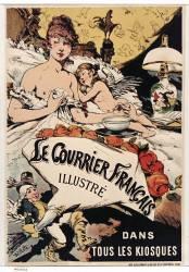 Le Courrier Français illustré (Willette Adolphe Léon) - Muzeo.com