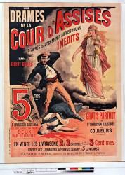 Les Drames de la Cour d'Assises par Albert Goullé, 5 cmes la livraison illustrée... (Bonnard A.) - Muzeo.com