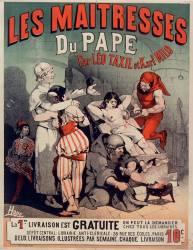 Les Maîtresses du Pape par Léo Taxil et Karl Milo (Choubrac Léon) - Muzeo.com