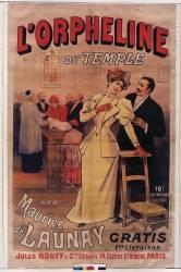 L'Orpheline du Temple par Maurice de Launay (anonyme) - Muzeo.com