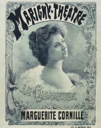 Marigny Theatre. La Charmeuse. Marguerite Cornille (Berge L..) - Muzeo.com