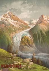 Mer de Glace (Mont Blanc, Savoie) (Hugo d'Alési F. (1849-1906)....) - Muzeo.com