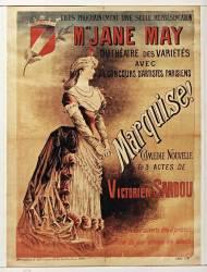 Mme Jane May du Théatre des Variétés ... Marquise ! comédie ... de Victorien Sardou (Jonchère J. (18..-19..)....) - Muzeo.com