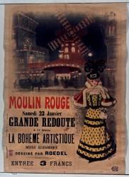 Moulin Rouge, la Bohème artistique (Roedel (1859-1900)....) - Muzeo.com