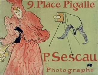 P. Sescau photographe (Toulouse-Lautrec Henri de) - Muzeo.com