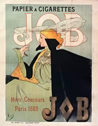 Papier à cigarettes JOB, hors concours 1889, Paris : hors concours, Paris 1889 ... (Atché Jane) - Muzeo.com