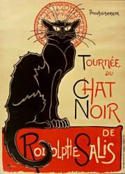 Prochainement Tournée du Chat Noir de Rodolphe Salis (Théophile Alexandre Steinlen) - Muzeo.com