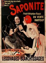Saponite produit antiseptique français... Lessivages, blanchissages... (anonyme) - Muzeo.com