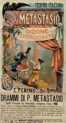 Teatro italiano. Metatasio . Didone abbandonata, drammi di P. Metastasio ... : E. Perino - Editore - Roma (Tavio (18..-19.. ;...) - Muzeo.com