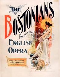 The Bostonians presenting English Opera... (anonyme) - Muzeo.com