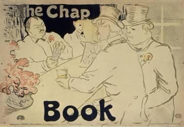 The Chap Book (Toulouse-Lautrec Henri de) - Muzeo.com