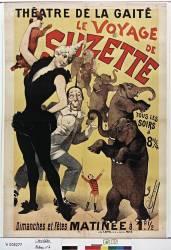 Théâtre de la Gaité. Le voyage de Suzette... (Choubrac Alfred) - Muzeo.com