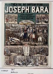 Théâtre du Château d'eau. Joseph Bara, drame historique en 5 actes et 9 tableaux de M. G. Sauton,... (Sault Léon (18..-19..)....) - Muzeo.com