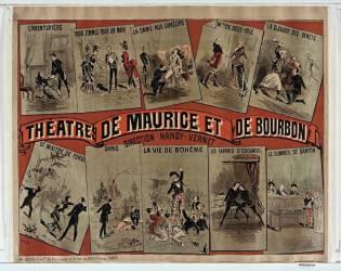 Théâtres de Maurice et de Bourbon... (Jonchère J. (18..-19..)....) - Muzeo.com