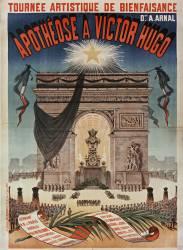 Tournée artistique de bienfaisance D[irect]ion A. Arnal. Apothéose à Victor Hugo... (Ancourt Edward) - Muzeo.com