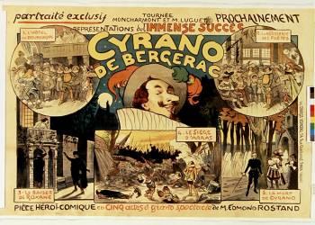 Tournée Moncharmont et M. Luguet, prochainement Cyrano de Bergerac (Métivet Lucien) - Muzeo.com