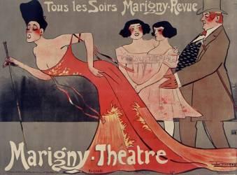 Tous les soirs Marigny-Revue. Marigny théâtre, Razinski, Lise Fleuron, Dji, Régiane (Lourdey Maurice) - Muzeo.com