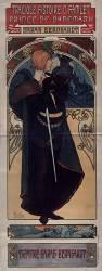 Tragique histoire d'Hamlet, prince de Danemark. Sarah Bernhardt (Mucha Alfons) - Muzeo.com