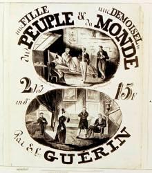 Une Fille du peuple, une demoiselle du monde par E. L. Guérin (Lalance Adolphe) - Muzeo.com