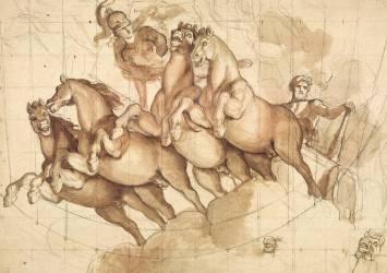 Apothéose d'Hercule (Le Brun Charles) - Muzeo.com