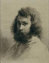 Autoportrait en buste (Millet Jean-François) - Muzeo.com