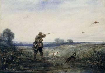 Chasse au faisan (Decamps Alexandre Gabriel) - Muzeo.com