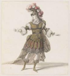 Dessin de costume (Berain Jean I) - Muzeo.com