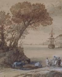 Enlèvement d'Europe (Le Lorrain Claude) - Muzeo.com