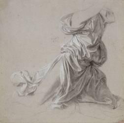 Etude de draperie (Ingres Jean-Auguste-Dominique) - Muzeo.com