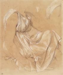 Etude de femme assise (Ingres Jean-Auguste-Dominique) - Muzeo.com