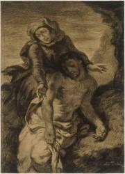 Etude pour une pietà (Delacroix Eugène) - Muzeo.com