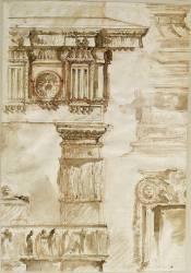 Etudes de motifs d'architecture (Piranèse (dit), Piranesi...) - Muzeo.com