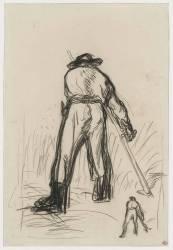 Back of a Reaper (Millet Jean-François) - Muzeo.com