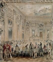 Fête donné à Louveciennes, le 2 septembre 1771 (Moreau Jean Michel, le Jeune) - Muzeo.com