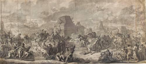 Funérailles de Patrocle (David Jacques Louis) - Muzeo.com