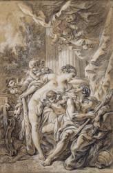 Hercule et Omphale (Boucher François) - Muzeo.com