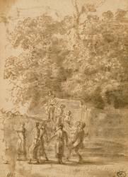 La Farandole (Le Lorrain Claude) - Muzeo.com