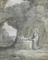 La Madeleine en prière (Le Lorrain Claude) - Muzeo.com