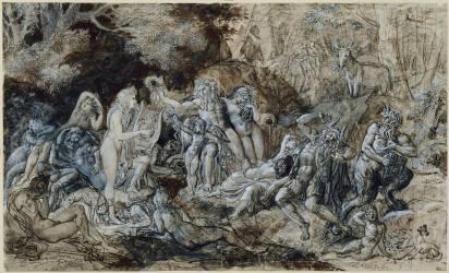Le jugement de Midas (Girodet Anne-Louis) - Muzeo.com