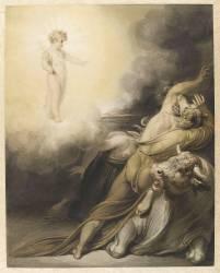 L'Enfant Jésus chassant les idoles de l'Egypte (Westall Richard) - Muzeo.com