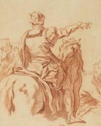 L'homme à cheval (Boucher François) - Muzeo.com