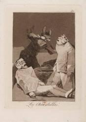 Los Chinchillas (De Goya Francisco) - Muzeo.com