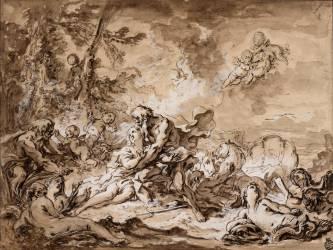 Neptune et Amymone (Boucher François) - Muzeo.com