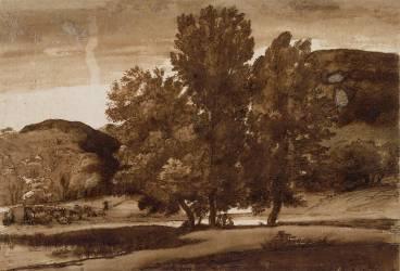Paysage (Le Lorrain Claude) - Muzeo.com