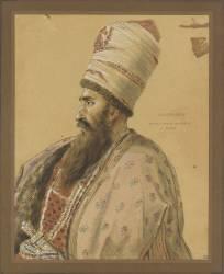 Portrait d'Asker Khan (Girodet Anne-Louis) - Muzeo.com