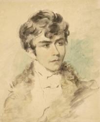 Portrait présumé de Delacroix jeune (anonyme) - Muzeo.com
