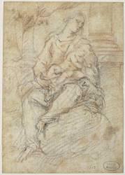 Vierge et l'Enfant Jésus (Rubens Pierre Paul) - Muzeo.com