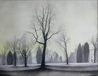The Park, Trees, 1944 (Spilliaert Léon) - Muzeo.com