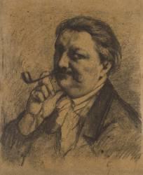 Self-portrait (Gustave Courbet) - Muzeo.com